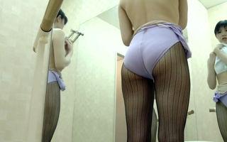 Elegant Japanese ballerina in the..