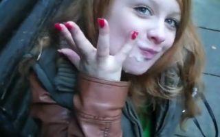 Redhead 18 year german teen..